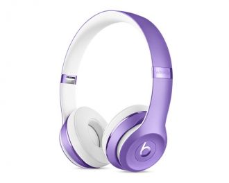 Apple Beats Solo3 Wireless On-Ear Headphones - Ultra Violet