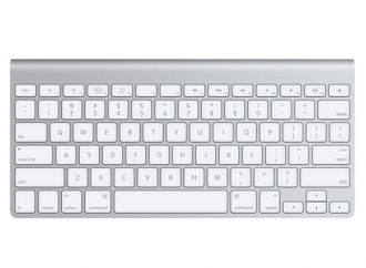 Apple Wireless Keyboard Slovak Demo