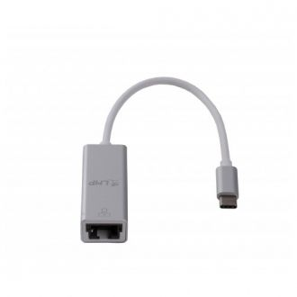 USB-C to Gigabit Ethernet adapter 15cm Silver