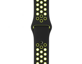 Apple Watch 38mm Black/Volt Nike Sport Band