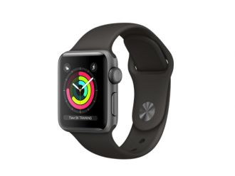 Watch Series 3 GPS 38mm Space Grey Aluminium with Grey Sport Band