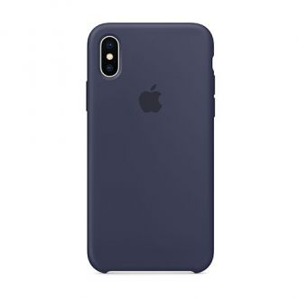 Apple iPhone X/XS Silicone Case - Midnight Blue