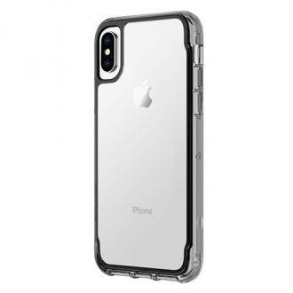 Griffin kryt Survivor Clear pre iPhone X - Black/Smoke/Clear