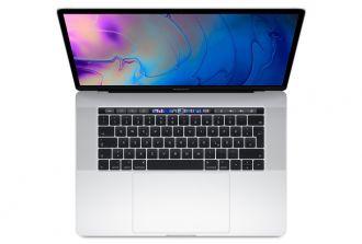 MacBook Pro 15-inch 2.2 GHz 6-Core i7 / 256 GB Silver