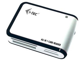 i-tec USB 2.0 All-in-One Card Reader White