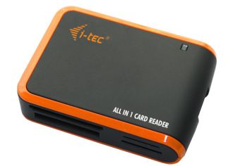i-tec USB 2.0 All-in-One Card Reader Black