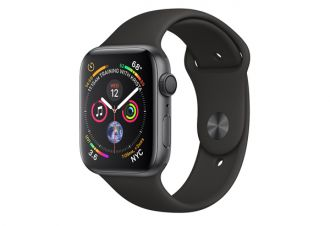 Watch series 4 GPS 40 mm Space Gray Aluminum Case with Black Sport Band