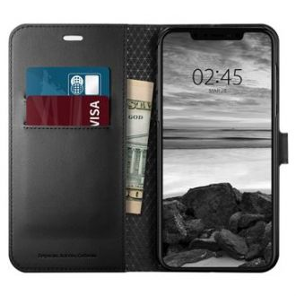 Spigen Wallet S pre iPhone XS Max Black
