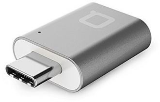 Nonda USB-C to USB 3.0 Mini adaptér - Grey