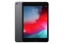 iPad mini (5.gen.) 64 GB WiFi+Cellular, Space Gray