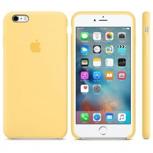 iPhone 6s Plus Silicone Case Yellow