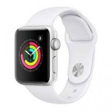 Watch Series 3 GPS 42mm Silver Aluminium with White Sport Band
