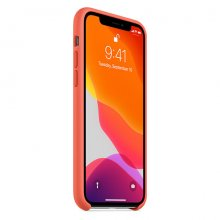 Apple iPhone 11 Pro Silicone Case - Clementine (Orange)