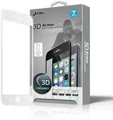 JCPAL Armor 3D Glass Screen Protector ( 0.26mm; White) for iPhone 7 Plus