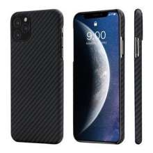 PITAKA MagCase Aramid obal pre iPhone 11Pro - Black/Grey