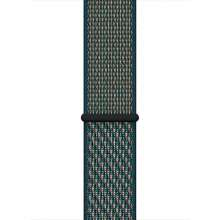 Apple Watch 44mm Hyper Crimson/Neptune Green Nike Sport Loop