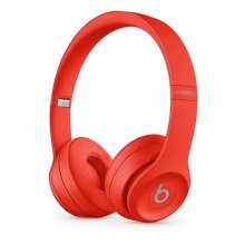 Apple Beats Solo3 Wireless On-Ear Headphones - Icon Collection –Red