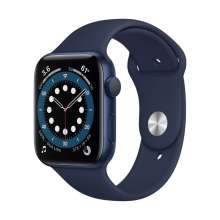 Watch Series 6 GPS, 40mm Blue Aluminium Case with Deep Navy Sport Band