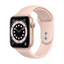 Watch Series 6 GPS, 44mm Gold Aluminium Case with Pink Sand Sport Band