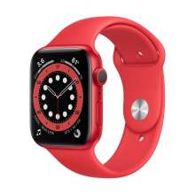 Watch Series 6 GPS, 44mm PRODUCT(RED) Aluminium Case with PRODUCT(RED) Sport Band