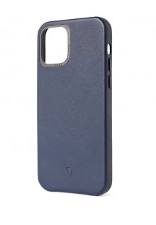 Decoded Backcover pre iPhone 12/12 Pro - Navy Blue