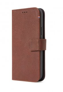 Decoded púzdro Leather Wallet Case pre iPhone 12/12 Pro - Brown