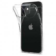 Spigen kryt Crystal Flex pre iPhone 12 mini - Clear