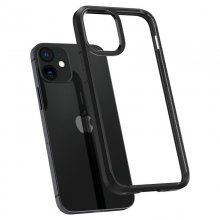 Spigen kryt Ultra Hybrid pre iPhone 12 mini - Black