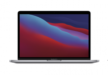 "MacBook Pro 13"" Apple M1 8-core GPU 8GB 512 GB Space Gray (2020)"