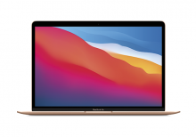 "MacBook Air 13"" Apple M1 8-core 8-core GPU 512GB Gold - EDU"
